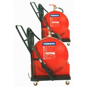 TDP-V 25 Kg Dry Powder Trolley Extinguisher