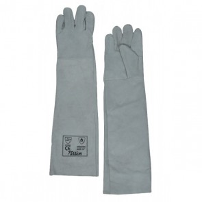 Safety gloves  (leather)